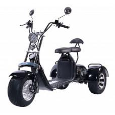 Электроскутер Citycoco Kugoo C5 Pro Trike 2000W 20Аh 60V Черный
