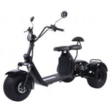 Электроскутер Citycoco Kugoo C5 Trike 2000W 20Аh 60V Черный
