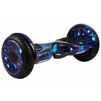 Гироскутер GT 10,5 + АКВАЗАЩИТА (Синий космос)