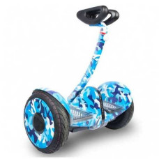 Мини-сигвей Mini Robot голубой камуфляж