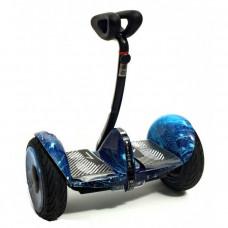 Мини-сигвей Mini Robot голубой космос